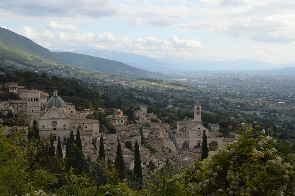 2. Assisi, the Province of Perugia, Umbria