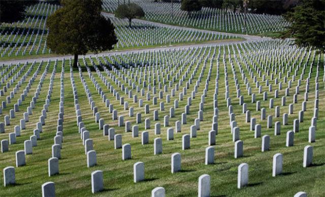 2. Calverton National Cemetery