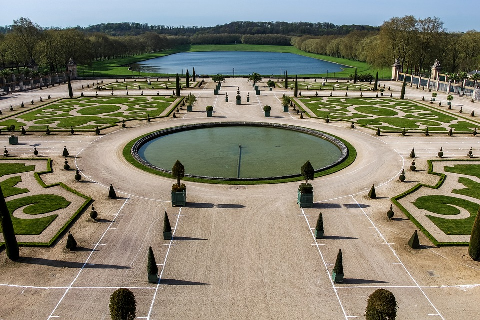 2. Gardens of Versailles - France