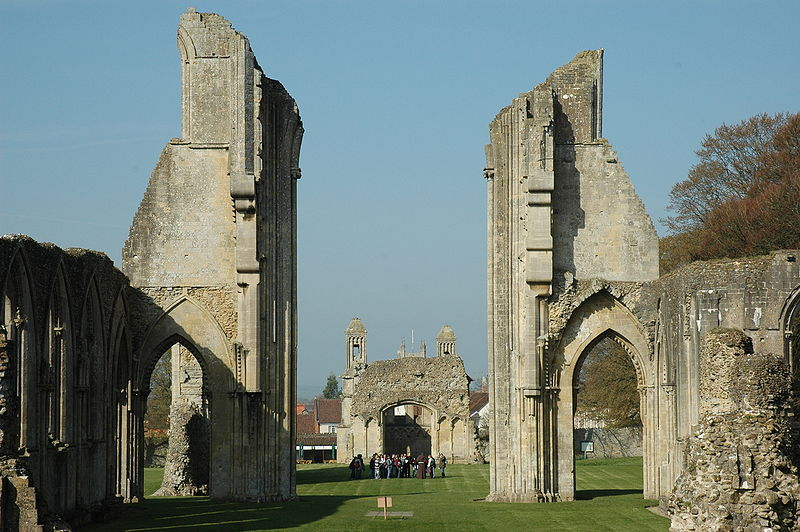 2. Glastonbury Abbey - England
