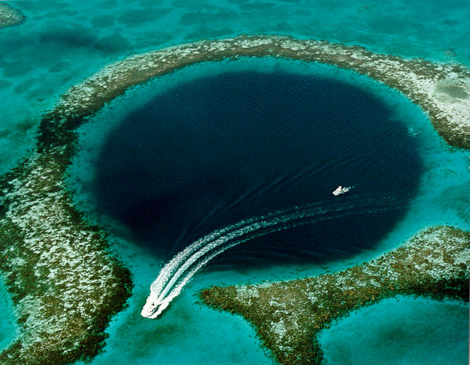 2. Great Blue Hole, Caribbean