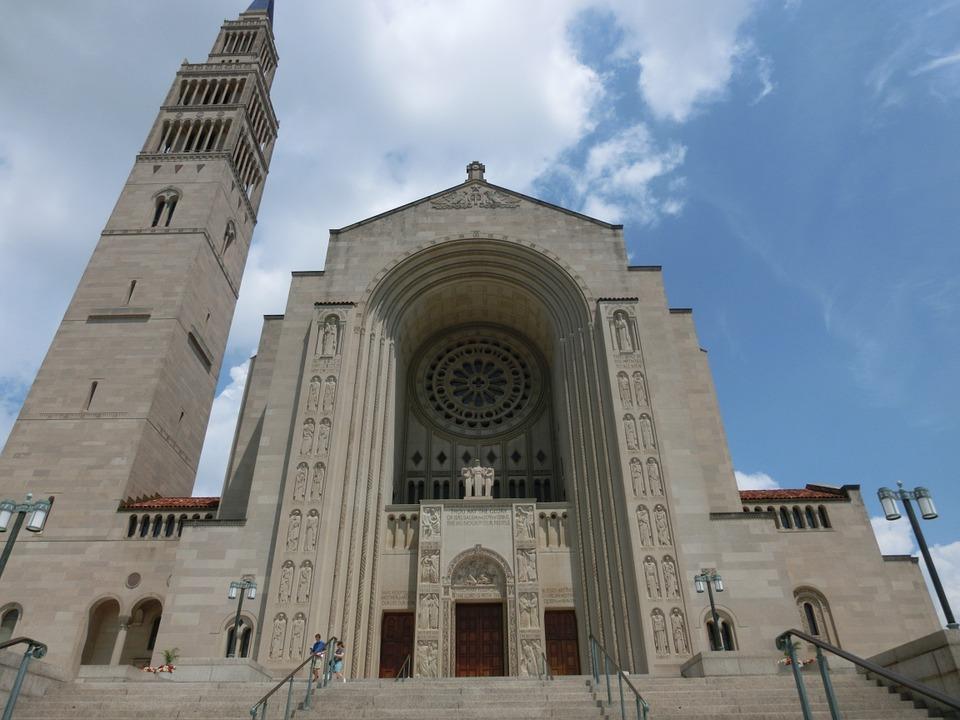 2. National Basilica of the Immaculate Conception - Washington DC, USA