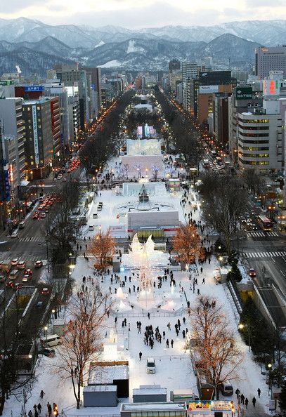 2. Sapporo, Hokkaido, Japan: 485 cm