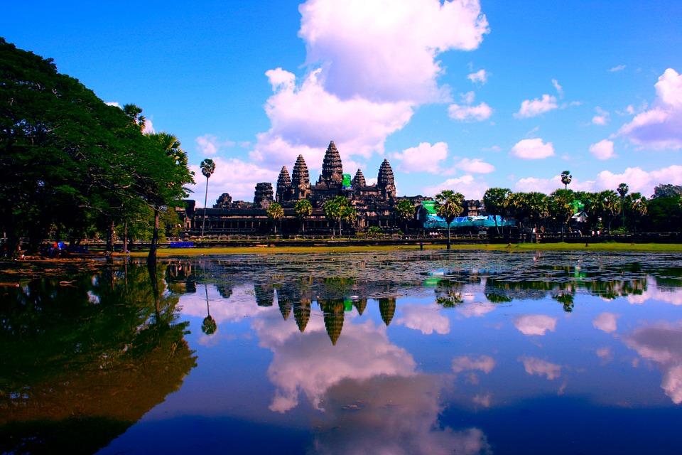 3. Angkor Wat, Cambodia