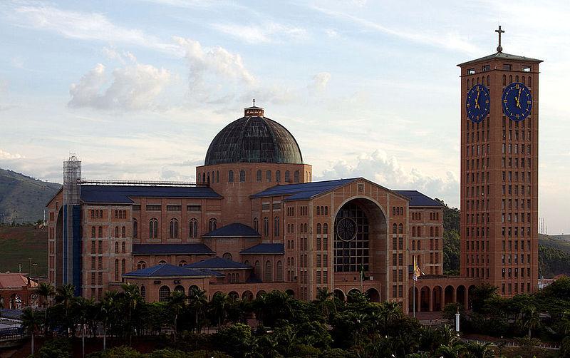 3. Basilica of Our Lady of Aparecida - San Paolo, Brazil