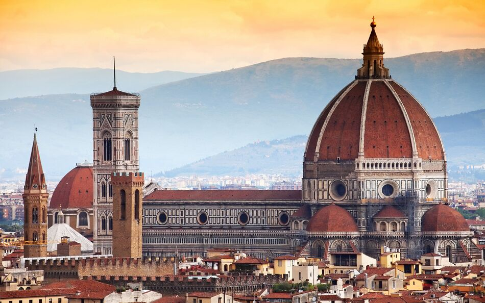 3. Cathedral of Santa Maria del Fiore - Florence, Italy
