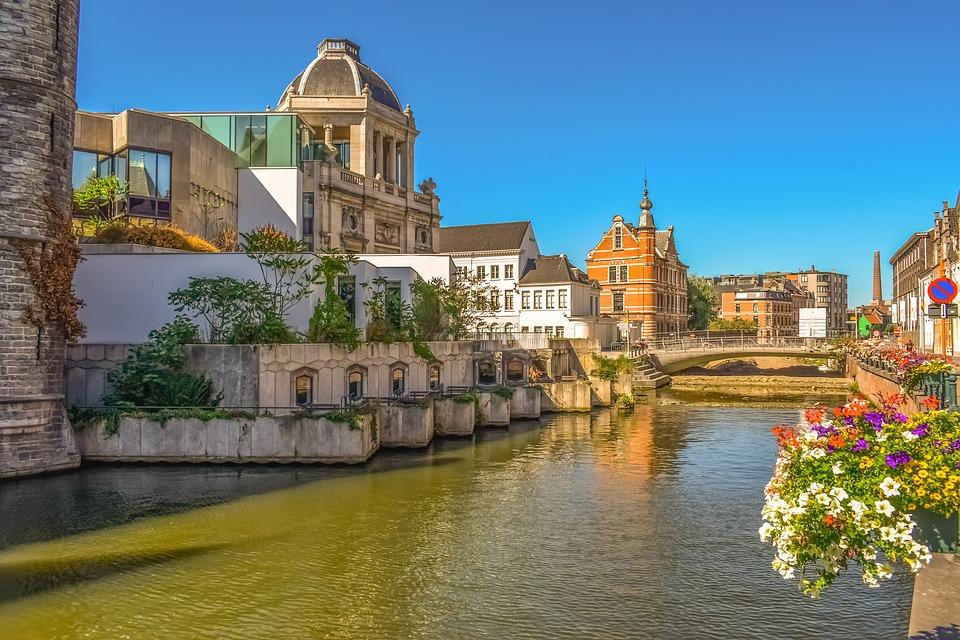 3. Ghent, Belgium
