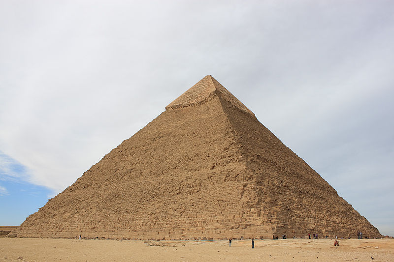 3. Pyramid of Chefren: 2.21 million m³