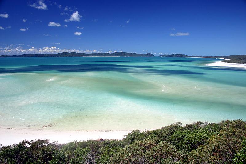 3. Whitehaven Beach, Australia