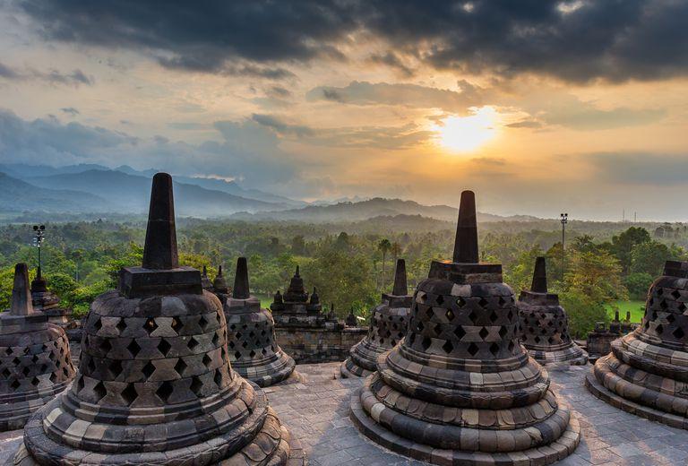 4. Borobudur - Java, Indonesia