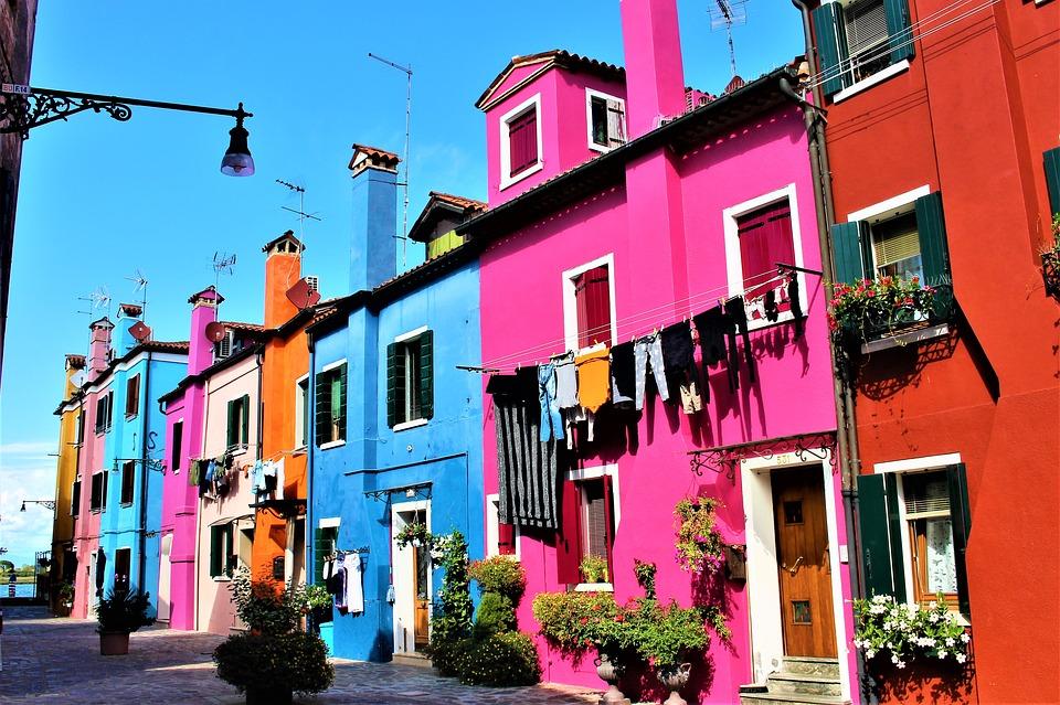 4. Burano, Italy