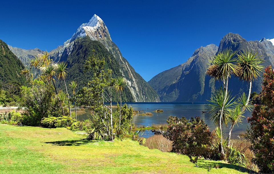 4. Fiordland National Park, New Zealand