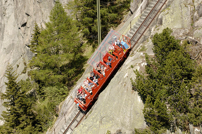 4. Gelmer Funicular - Switzerland
