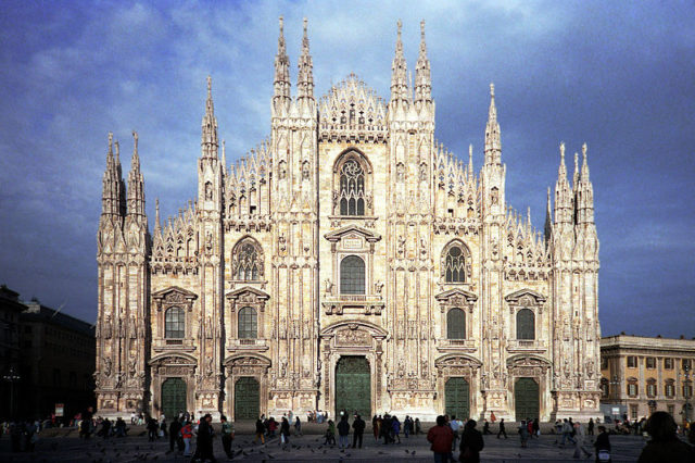 4. Milan Cathedral - Milan, Italy