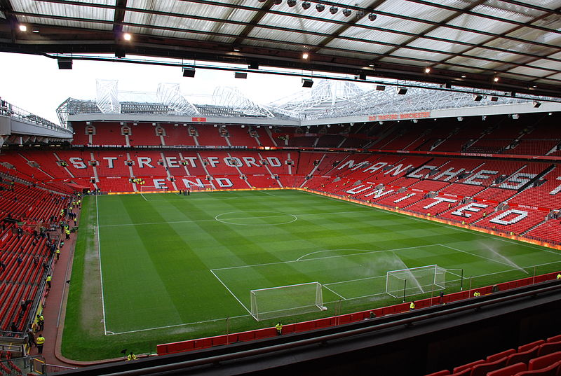4. Old Trafford, Manchester