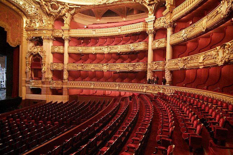 4. Opéra Garnier - Paris, France