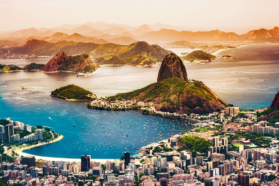 5. Brazil, South America