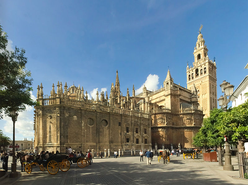 5. Cathedral of Santa Maria - Seville, Spain