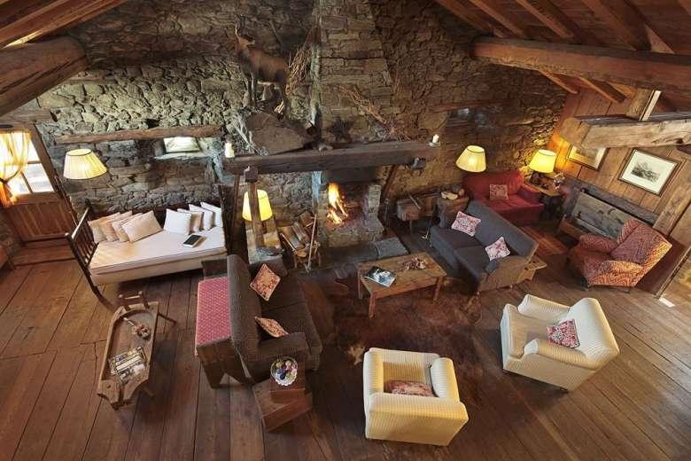 5. Chalet of the Hotellerie de Mascognaz, Valle d'Aosta