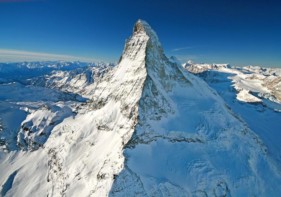 5. Monte Cervino - Matterhorn-Switzerland, Italy Border