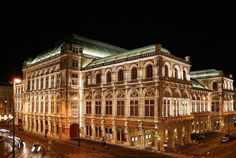 5. Vienna State Opera - Vienna, Austria
