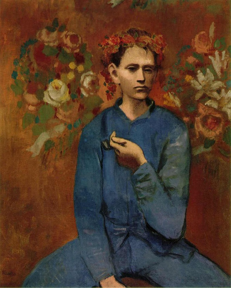 6. Boy with a Pipe