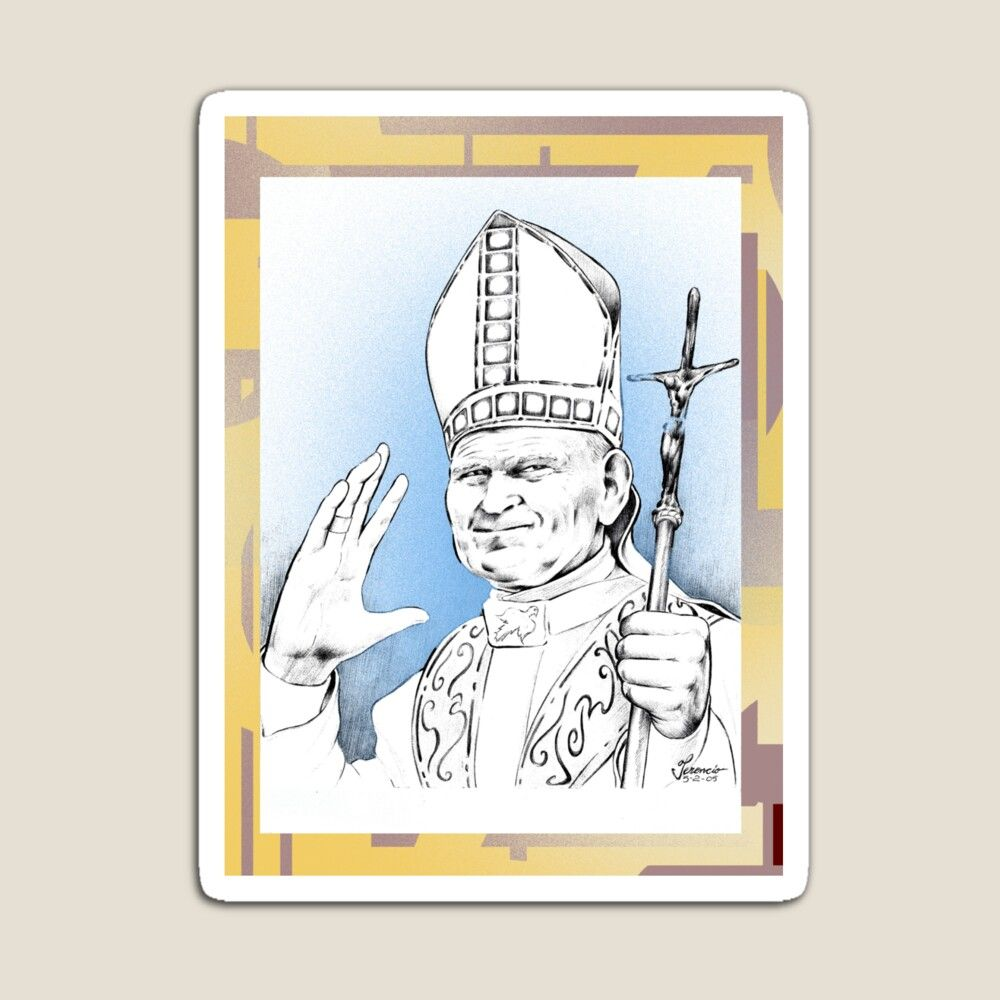 6. Magnets of the Pope - Vatican City