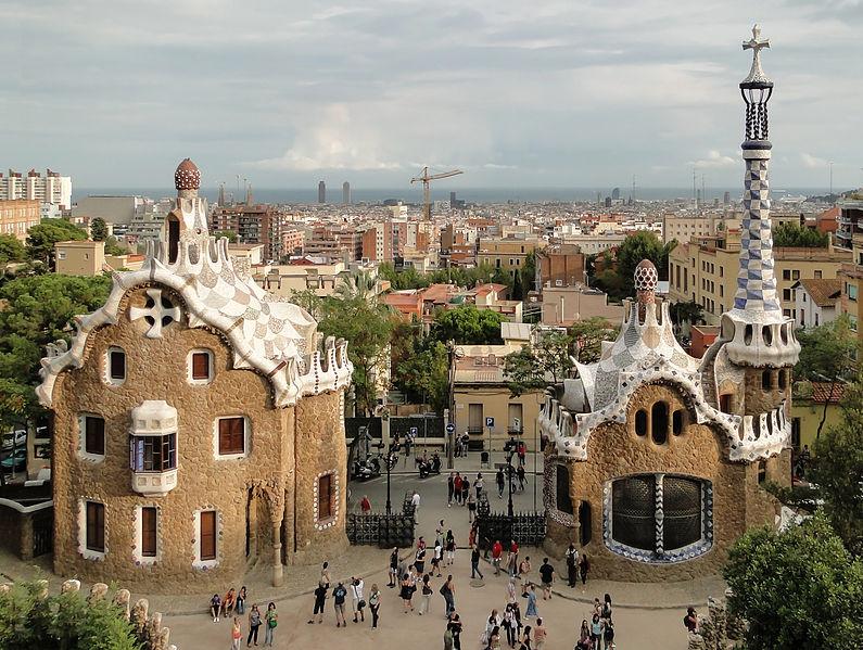 6. Park Güell - Barcelona, Spain
