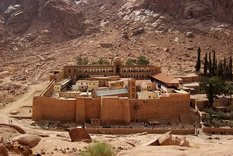 6. Saint Catherine - Egypt
