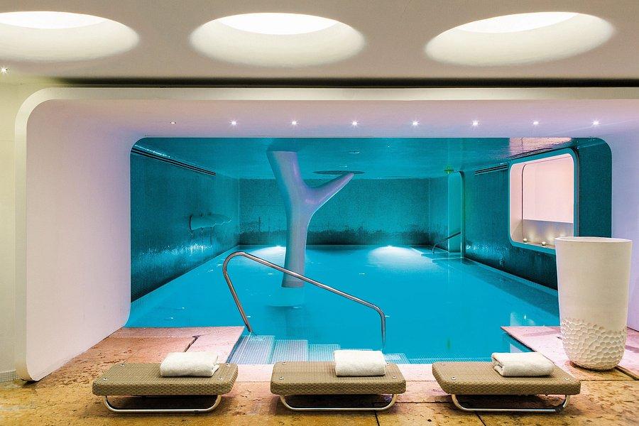 6. Spa of the Boscolo Hotel - Milan, Italy