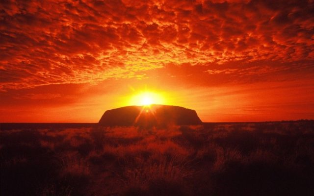 7. Ayers Rock, Australia