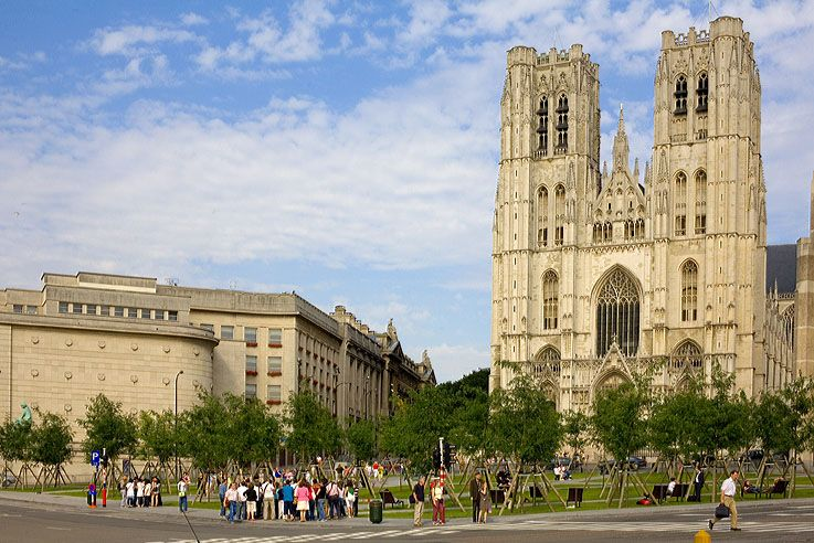 7. Co-Cathedral of St Michael and St Gudula - Brussels, Belgium