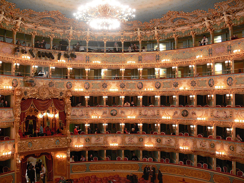 7. Gran Teatro La Fenice - Venice, Italy