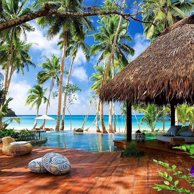 7. Laucala Island, Fiji