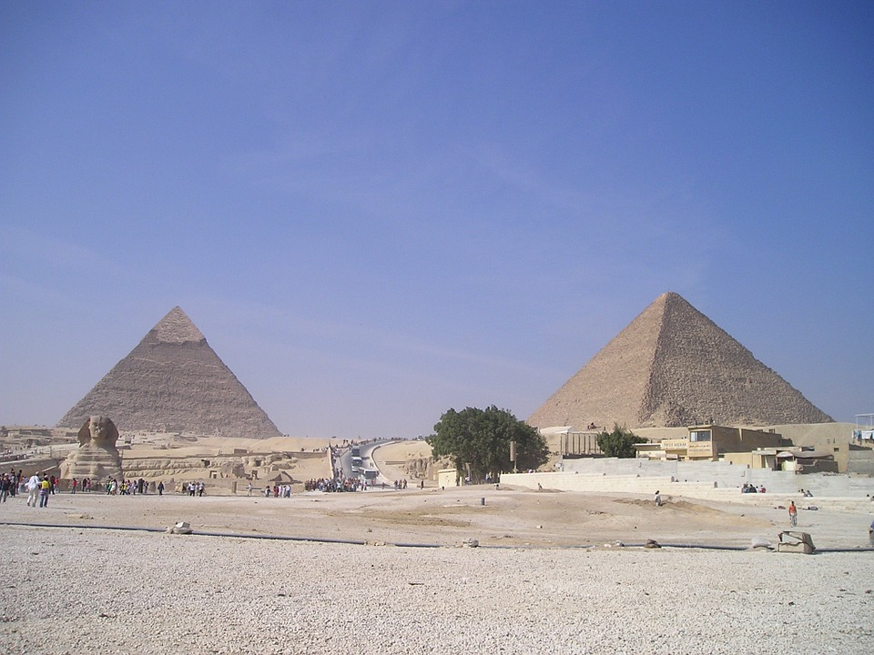7. Pyramid of Cheops