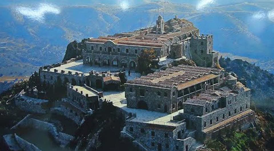 7. Stavrovouni Monastery - Larnaca