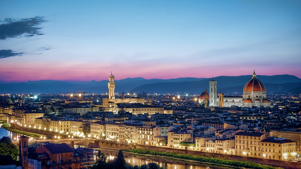 8 . Florence, Italy