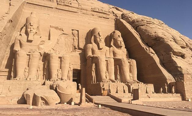8. Abu Simbel - Aswan Governorate, Egypt