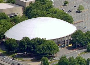 8. Bojangles' Coliseum - North Carlolina, USA