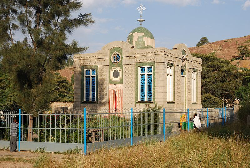 8. Church of Our Lady Mary of Zyon