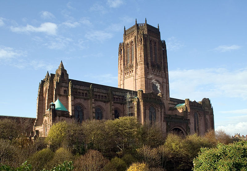 8. Liverpool Cathedral - Liverpool, UK