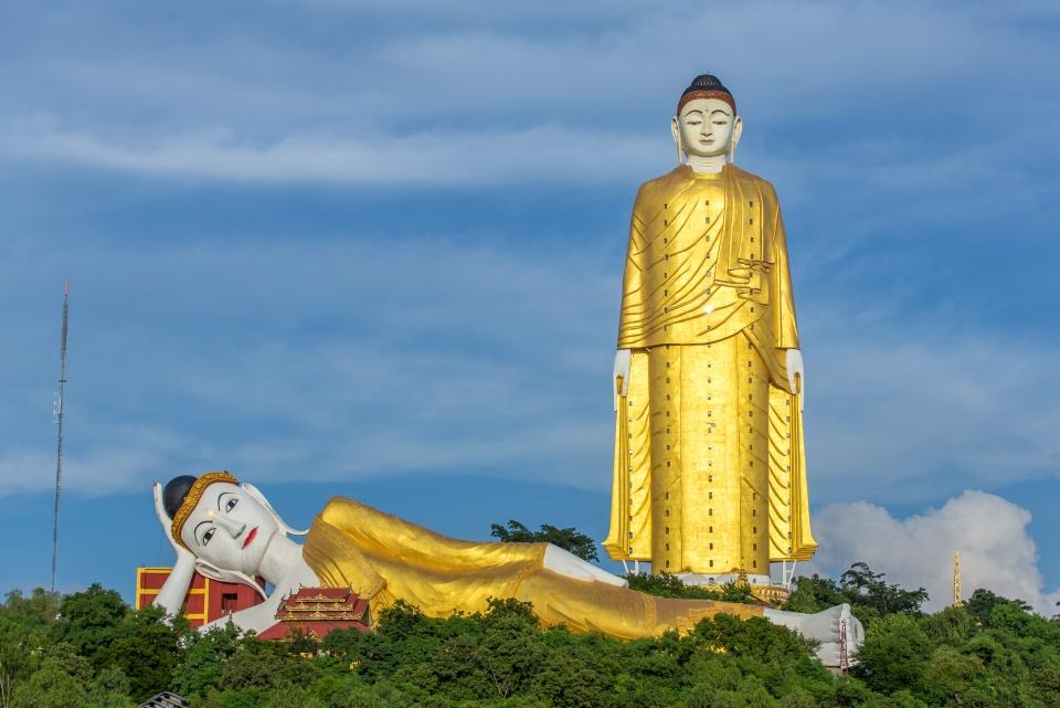8. Monywa Buddha, Myanmar