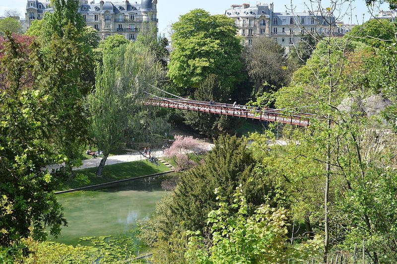 8. Parc des Buttes-Chaumont - Paris, France