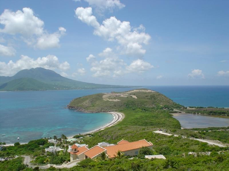 8. Saint Kitts and Nevis - 261 km²