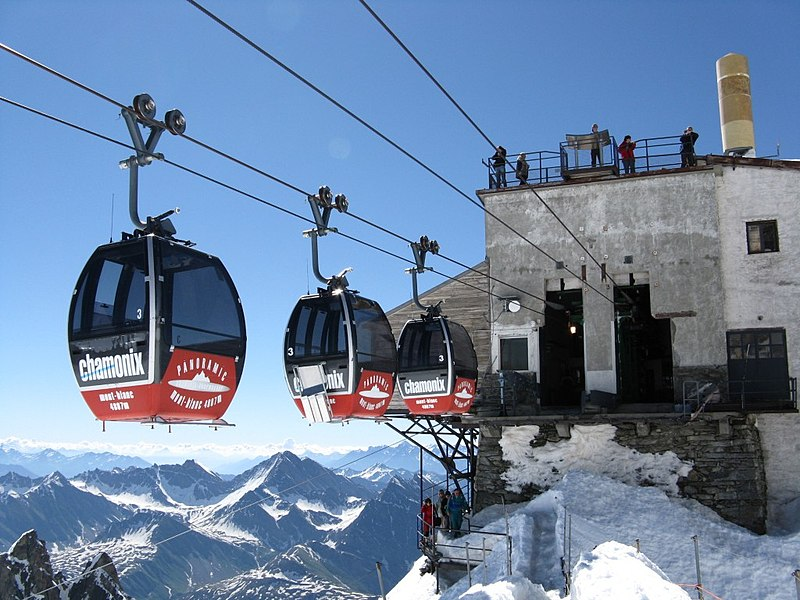 8. SkyWay Mont Blanc, Italy - France