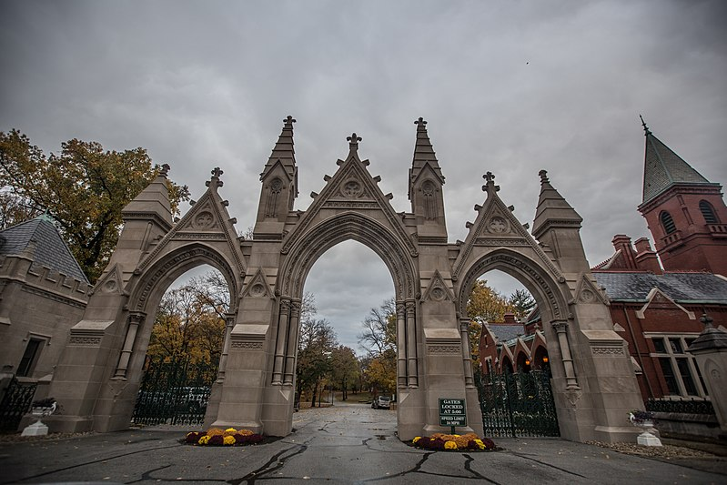 9. Crown Hill Cemetery