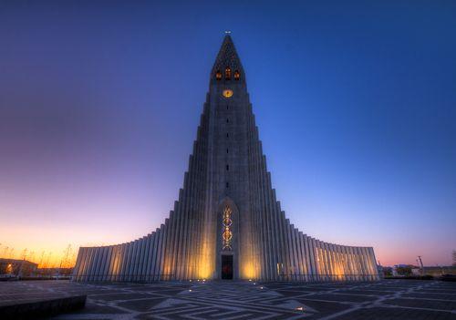 9. Hallgrimur Church - Reykjavik, Iceland