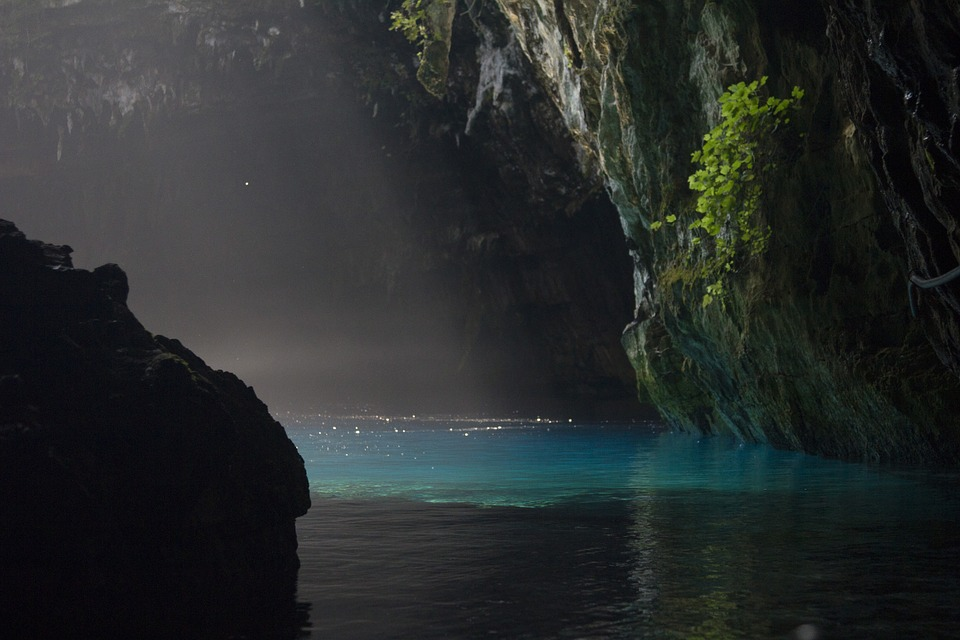 9. Melissani Cave - Kefalonia, Greece