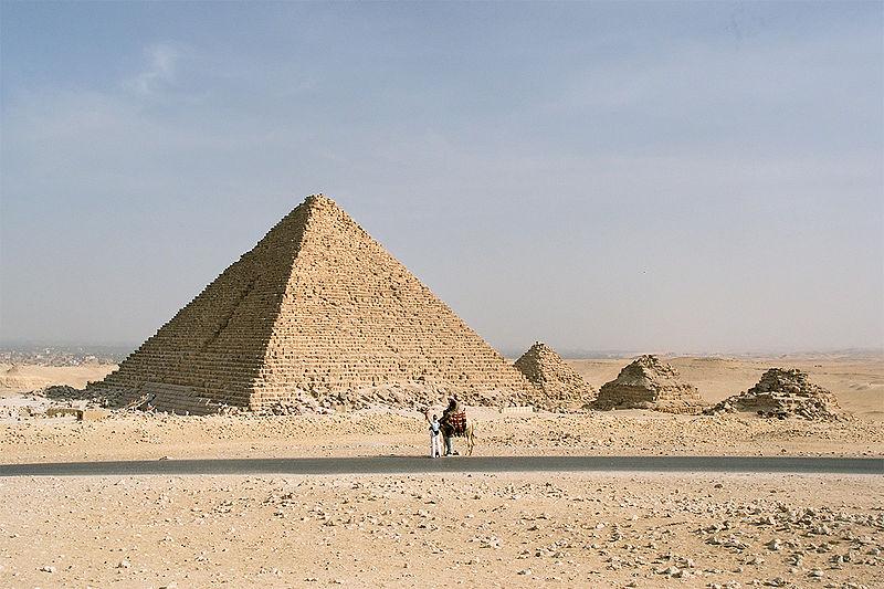 9. Pyramid of Menkaure