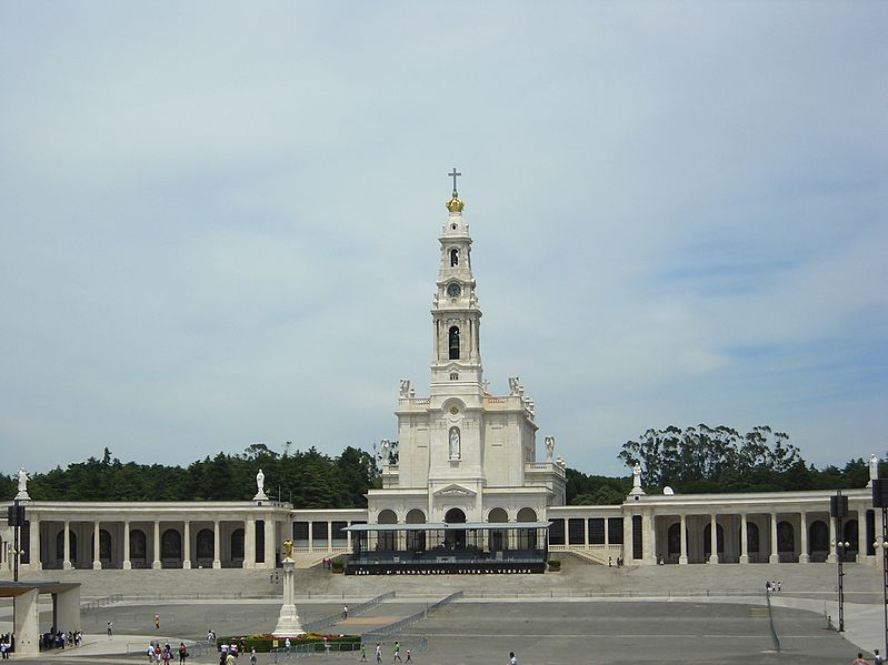 9. Shrine of Fatima - Cova da Irina, Portugal
